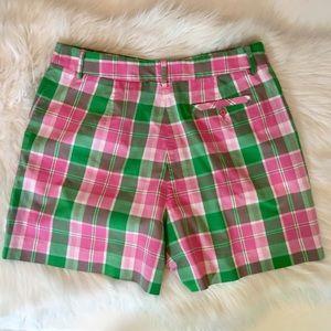 Lilly Pulitzer Shorts - Lilly Pulitzer Plaid Shorts, 10